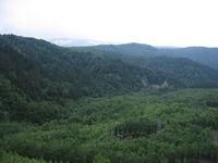 大雪ダムからの景色