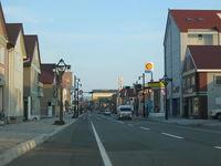 浦河町の大通商店街