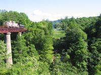 旧炭山川橋